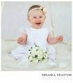 Sukienka do chrztu biała